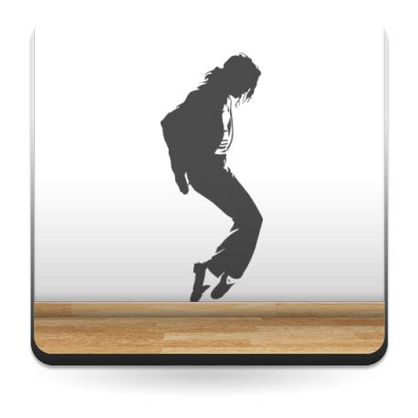 Jackson I decoración con vinilo