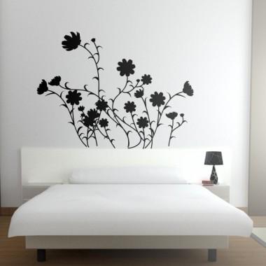 adhesivo decorativo Flores Silvestres Motivo