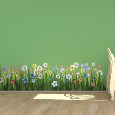 Flores Silvestres Color adhesivo decorativo ambiente