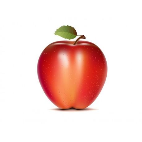 Manzana Roja adhesivo decorativo ambiente