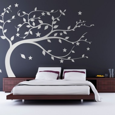 Árbol Vendaval adhesivo decorativo ambiente