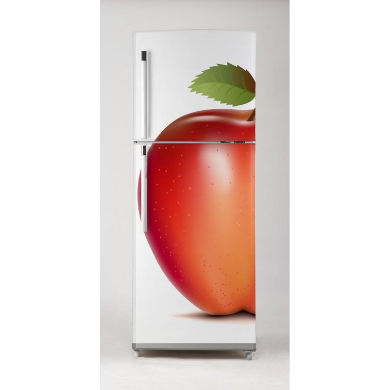 Vinilo manzanas rojas para frigor fico for Vinilos adhesivos para frigorificos