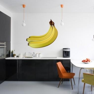 adhesivo decorativo Plátanos