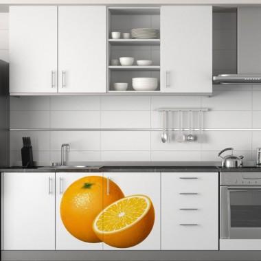 Naranjas adhesivo decorativo ambiente