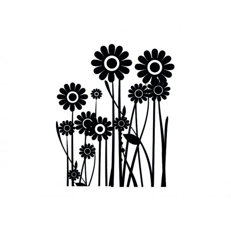 pegatina decorativa Floral Ramillete