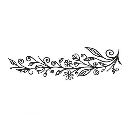 adhesivo decorativo Floral Ornamental