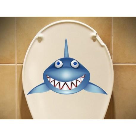 vinilo decorativo Tiburón Baja la Tapa
