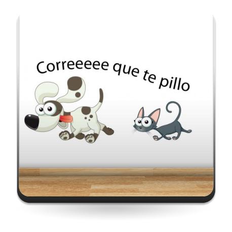 Nombre Perro Gato para Cabecero imagen vista previa