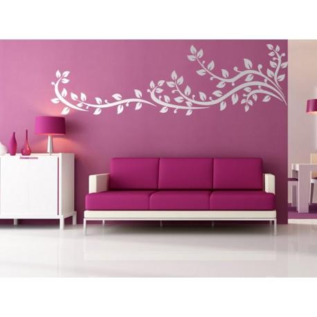 Floral Ornamenntal II imagen vinilo decorativo