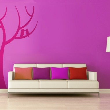 Árbol Love decoración con vinilo