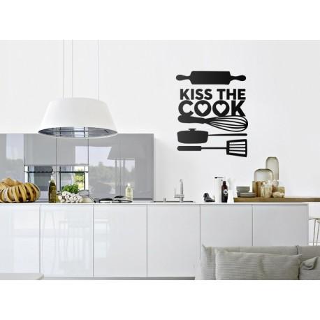 Cocina Beso decoración con vinilo