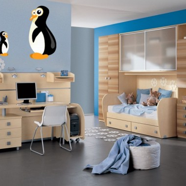 "pegatina decorativa Pingüino ""Polo"""