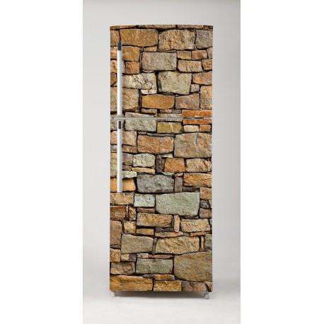 Vinilo piedras r sticas para frigor fico for Vinilos adhesivos para frigorificos