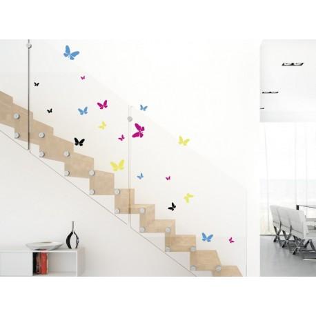pegatina decorativa Mariposas al Vuelo