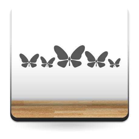 vinilos imagen producto Mariposas al Vuelo