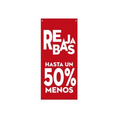 vinilos imagen producto Rebajas hasta un 50 % Rojo Lona