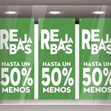 adhesivo decorativo Rebajas hasta un 50 % Verde Lona