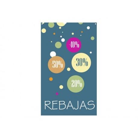 vinilo decorativo Rebajas Burbujas Lona