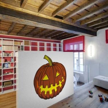 vinilo decorativo Halloween Calabaza Loca