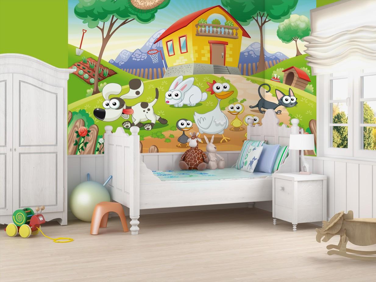 Murales de pared infantiles mural habitacin infantil - Mural pared infantil ...