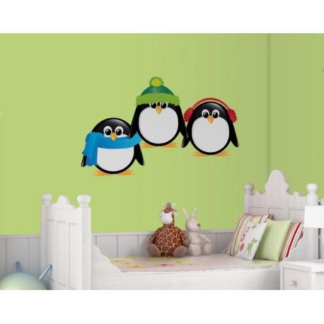 vinilos imagen producto Pingüinos