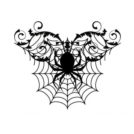 Halloween Ornamento Araña II imagen vinilo decorativo