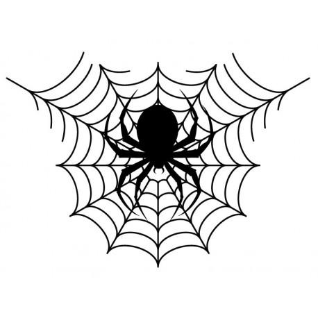 Halloween Tela de Araña producto vinilos