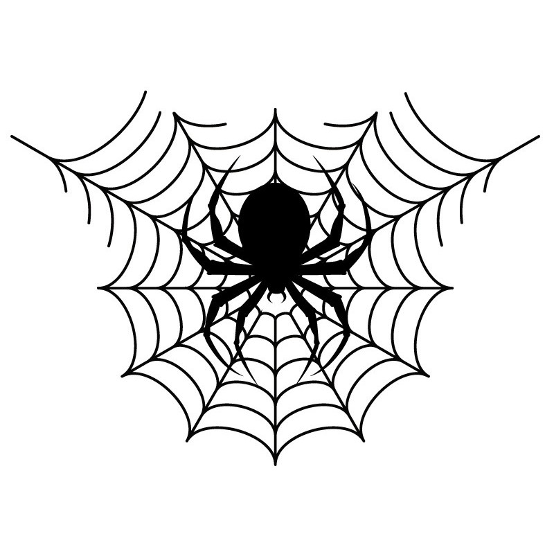 Vinilo halloween tela de ara a - Telas con dibujos infantiles ...