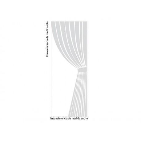 pegatina decorativa Vinilo Cortina para Cristal Decoración