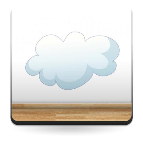 vinilo decorativo Nube I Colección Alfy