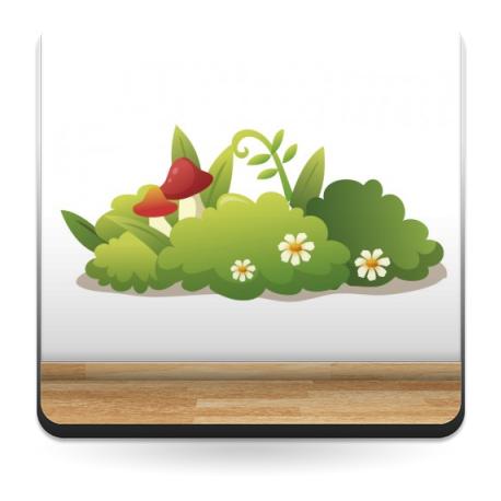 pegatina decorativa Naturaleza I Colección Alfy