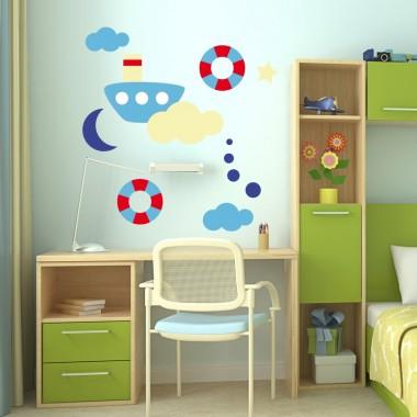 Marinero Composición Infantil imagen vista previa