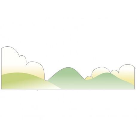 Montañas y Nubes Colección Alfy producto vinilos