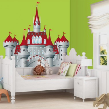 Castillo Fantasia decoración con vinilo