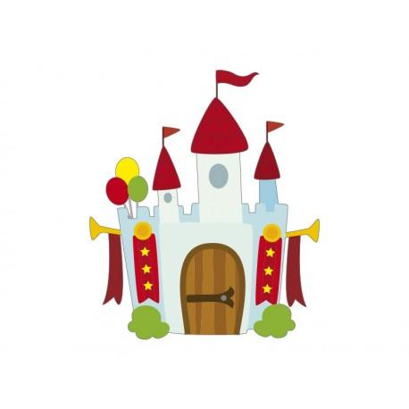 pegatina decorativa Castillo Medieval Atracción