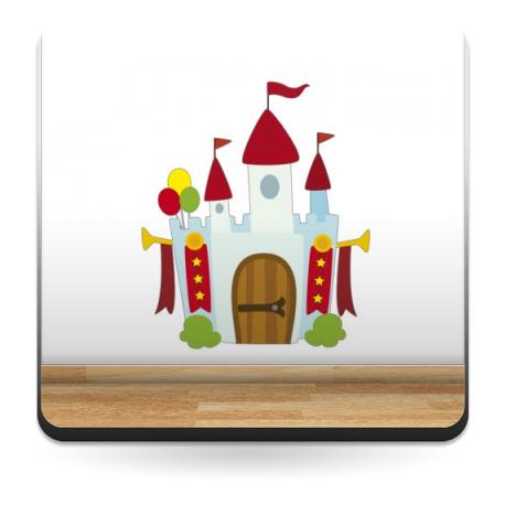 vinilos imagen producto Castillo Medieval Atracción