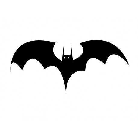 Murciélagos Espanto imagen vinilo decorativo