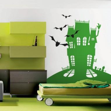 adhesivo decorativo Murciélagos Casa Terror