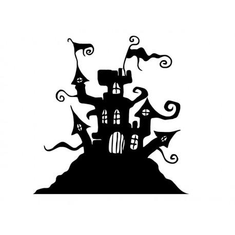 Castillo del Terror adhesivo decorativo ambiente