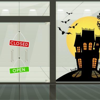 Casa Terror II adhesivo decorativo ambiente