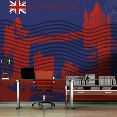 vinilo decorativo Londres Post