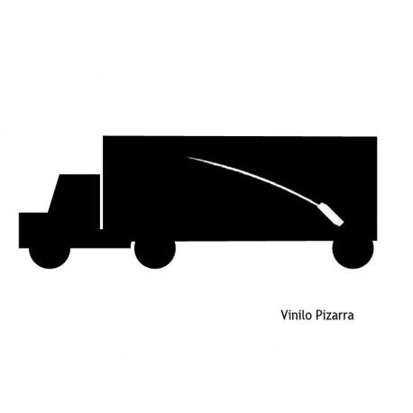 vinilos imagen producto Camión II Pizarra