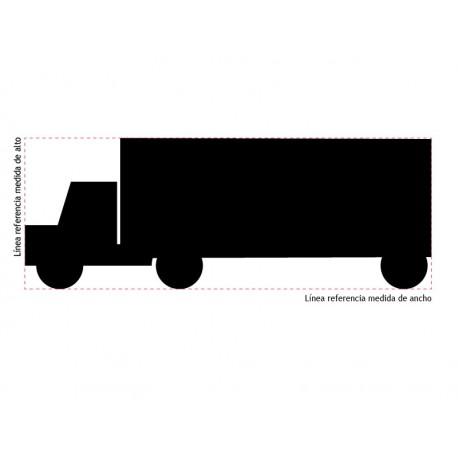 adhesivo decorativo Camión II Pizarra