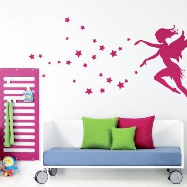 vinilos imagen producto Hada Estrellas