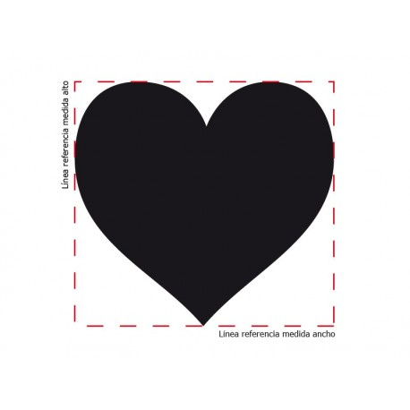 pegatina decorativa Corazón Corazón