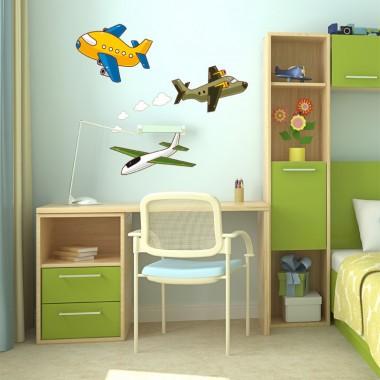 Aviones Infantil producto vinilos