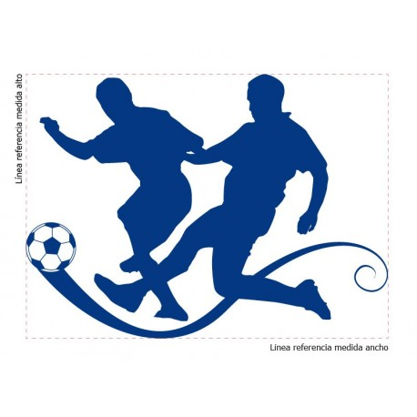 adhesivo decorativo Futbol
