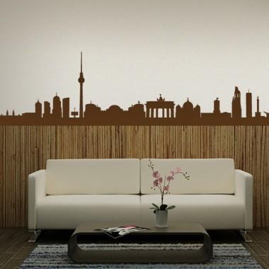 adhesivo decorativo Skyline Berlín