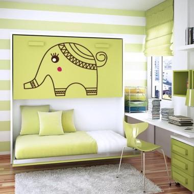 Elefante Bantu imagen vinilo decorativo
