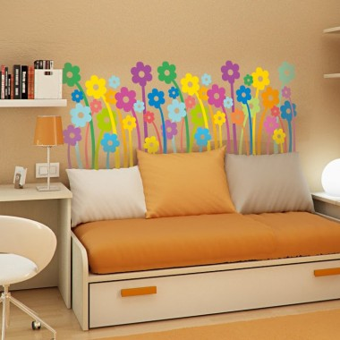 Flower Power adhesivo decorativo ambiente